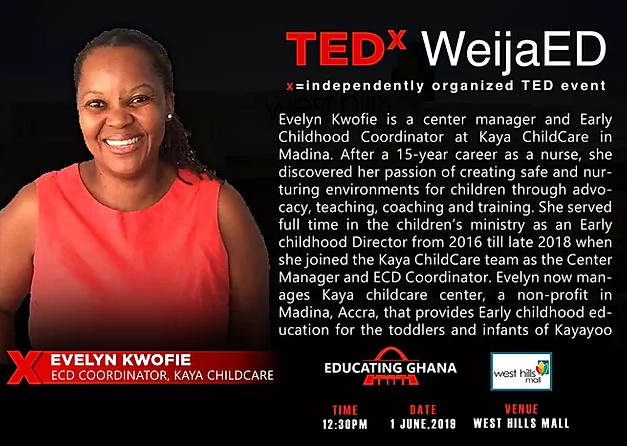 We're speaking at TEDx ED this June!